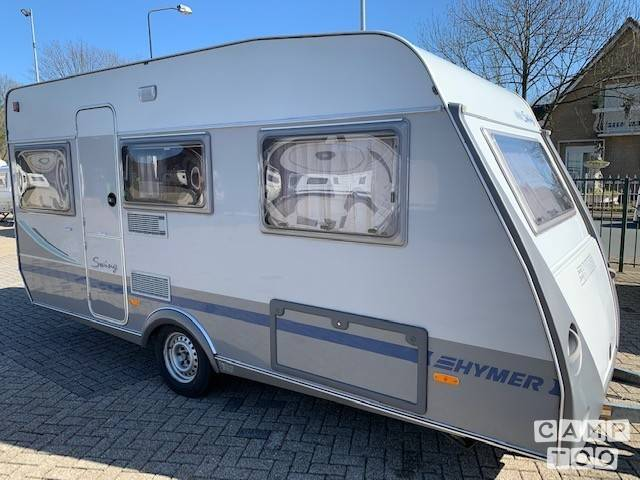 Hymer caravan uit 2002: foto 1/28