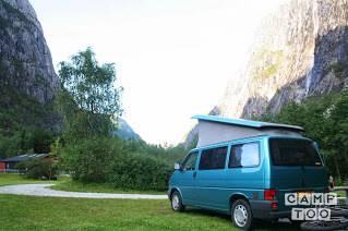 Volkswagen camper from 1992: photo 1/20