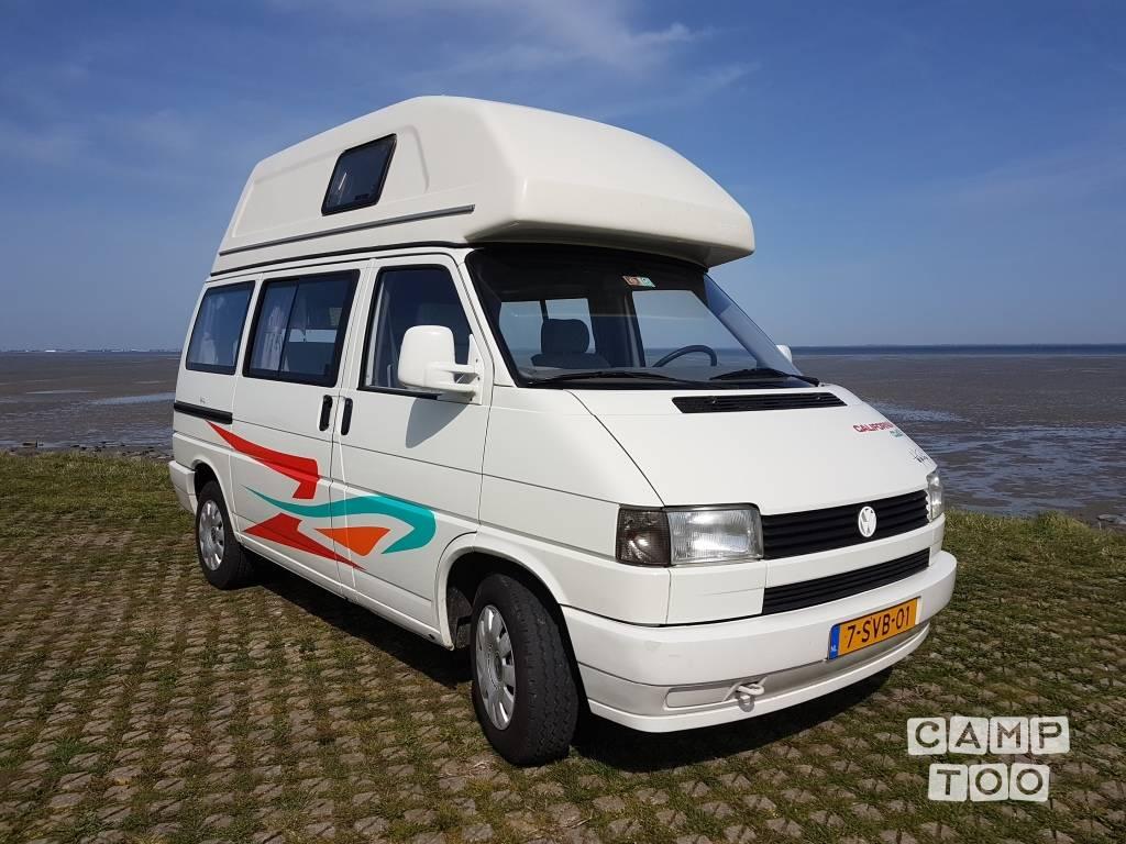 Volkswagen camper uit 1992: foto 1/19