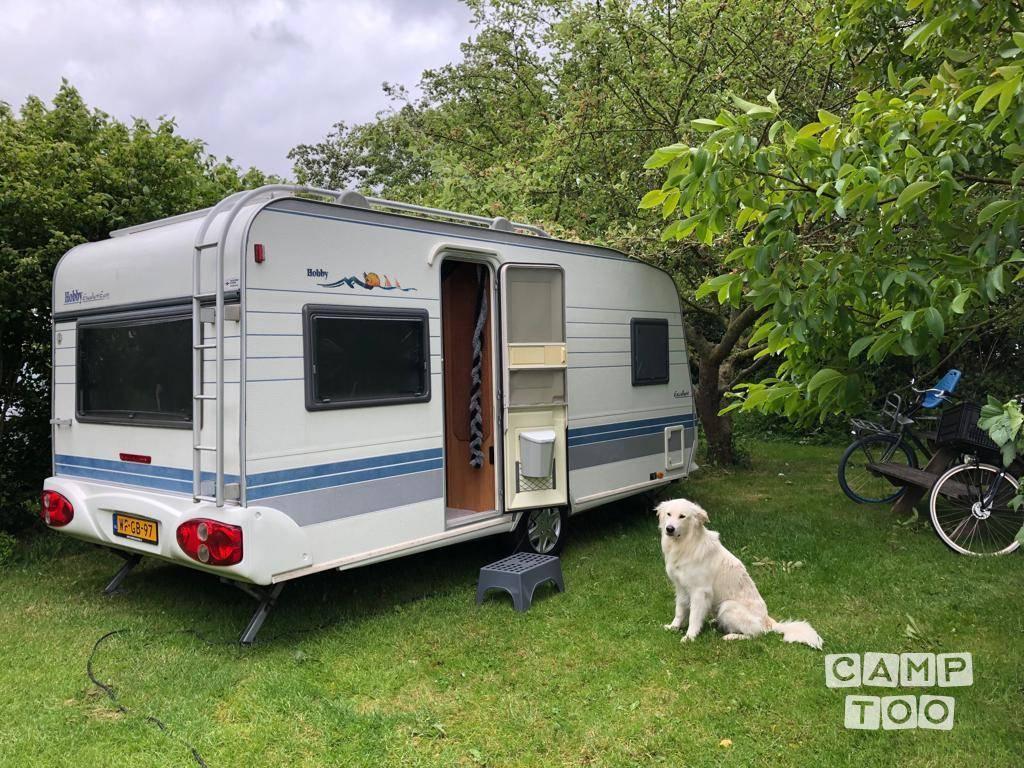 Hobby caravan uit 2001: foto 1/12