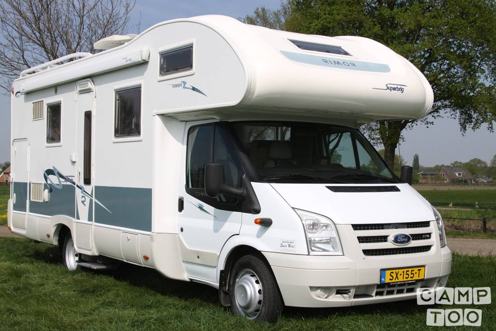 Rimor camper from 2008: photo 1/21