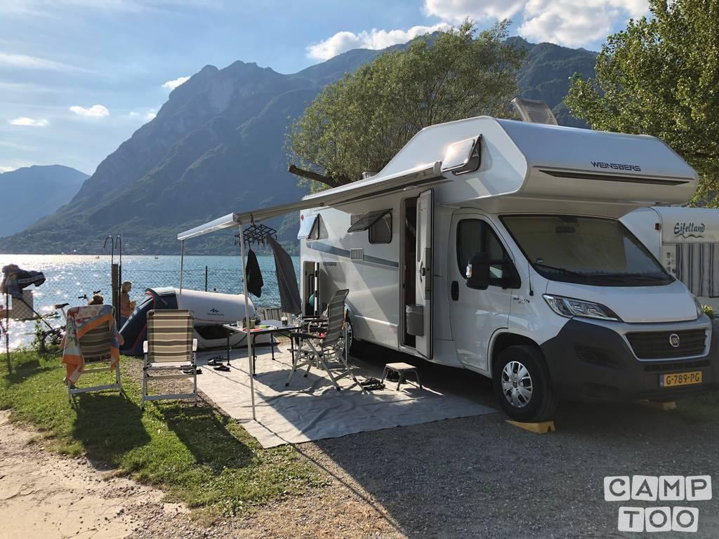 Weinsberg  camper uit 2018: foto 1/12