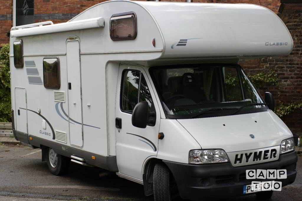 Hymer camper from 2005: photo 1/11