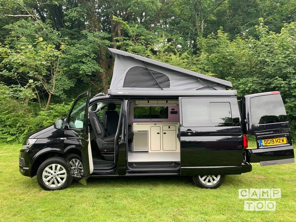 Volkswagen camper uit 2019: foto 1/10