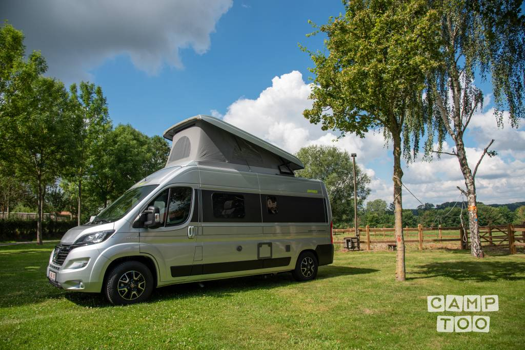 Hymer camper from 2021: photo 1/20