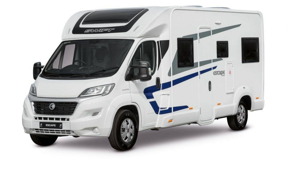 Swift camper from 2019: photo 1/9