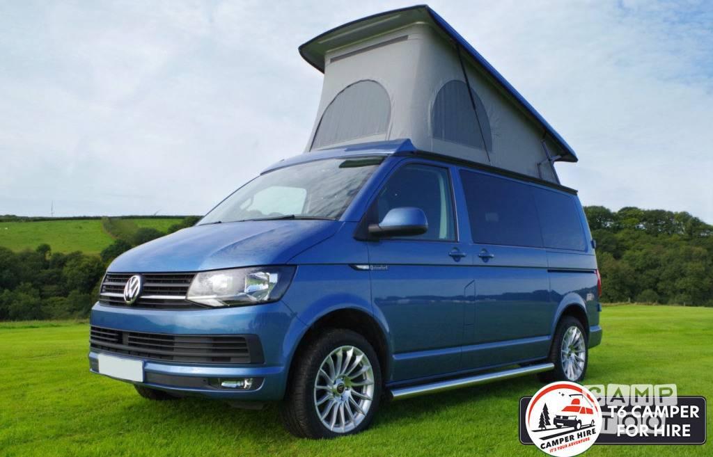 Volkswagen camper from 2017: photo 1/23