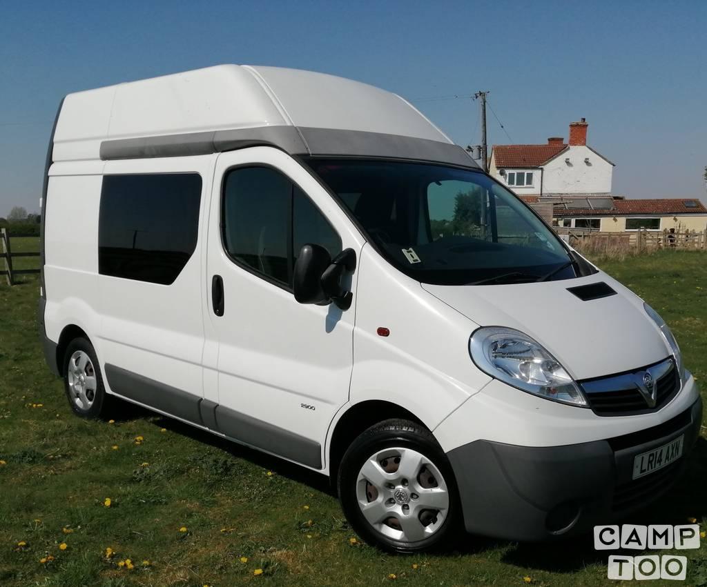Vauxhall camper uit 2014: foto 1/15