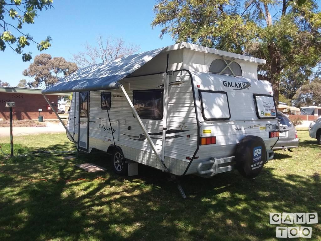 Galaxy caravan uit 2011: foto 1/1