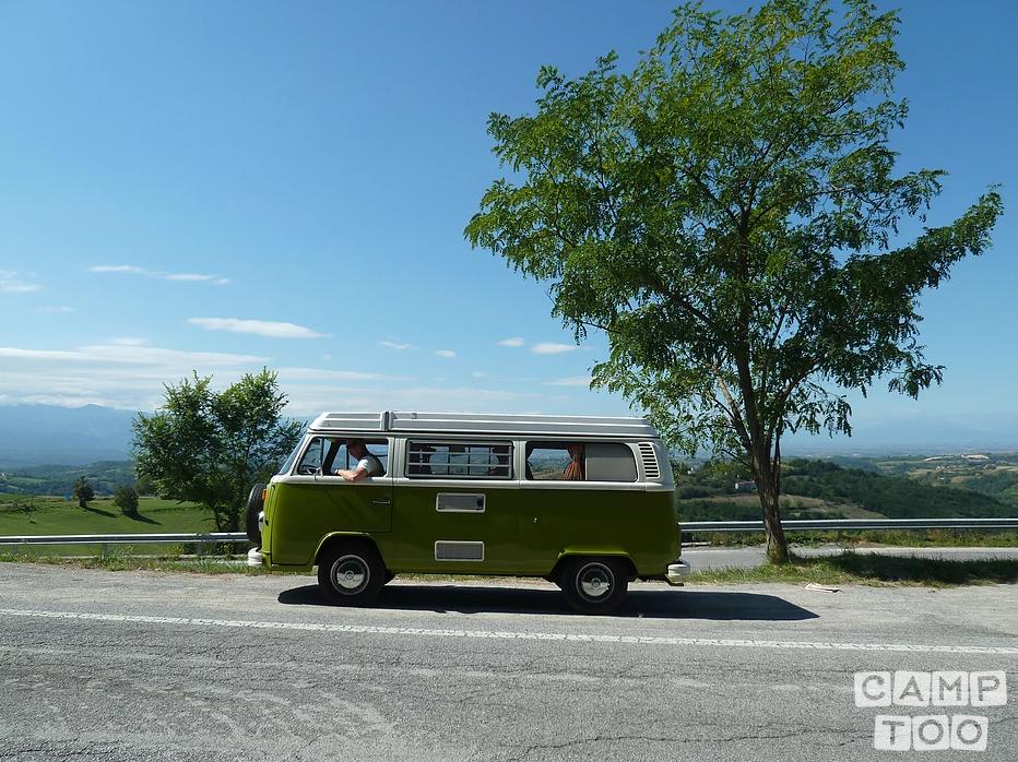 Volkswagen camper from 1979: photo 1/14