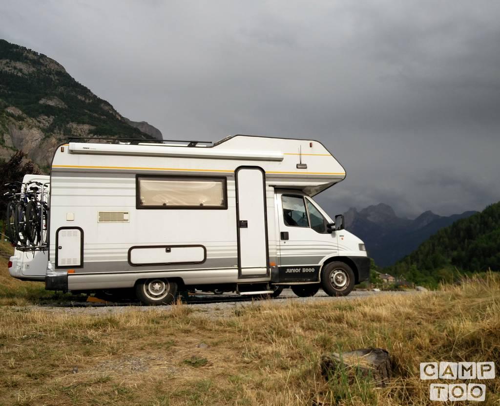 Fiat camper uit 1995: foto 1/13