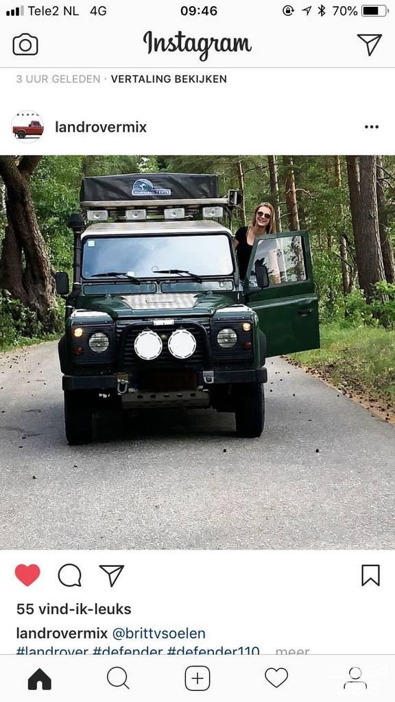 Land Rover camper uit 1998: foto 1/6