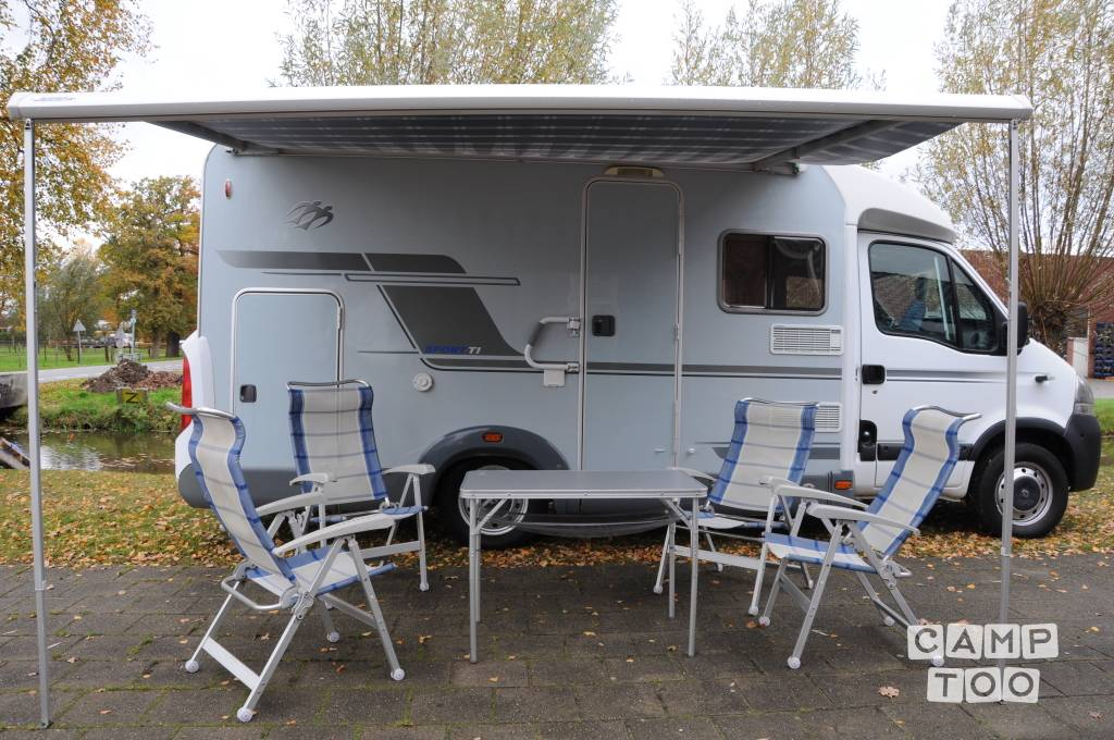 Knaus camper from 2007: photo 1/13