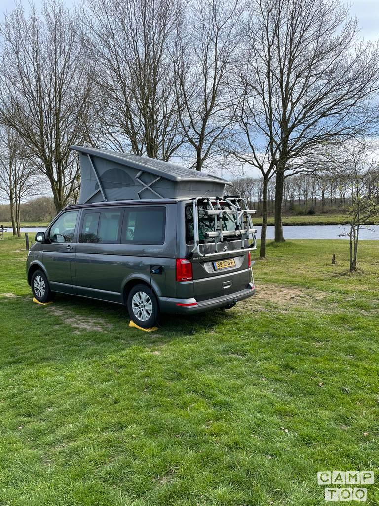 Volkswagen camper uit 2018
