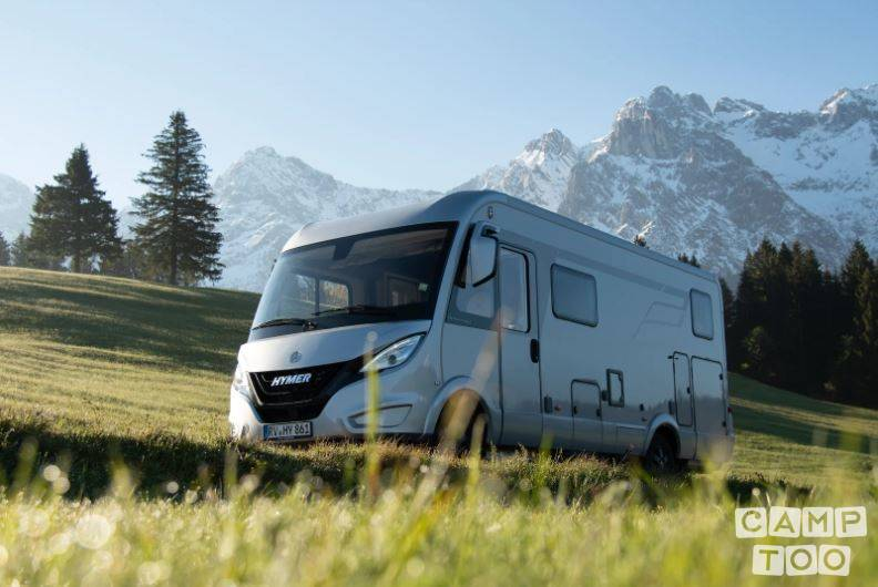 Hymer camper from 2020: photo 1/9