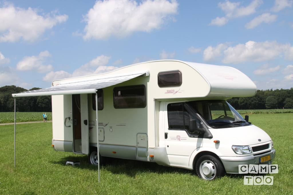 Rimor camper from 2003: photo 1/12