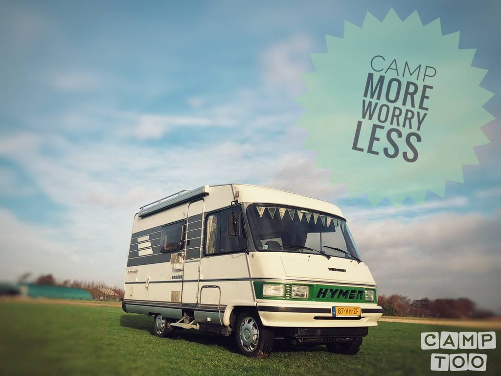 Hymer camper from 1991: kuva 1/22