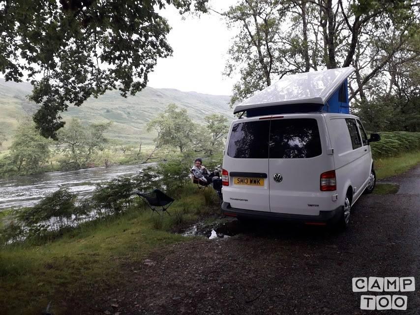 Volkswagen camper from 2013: photo 1/7