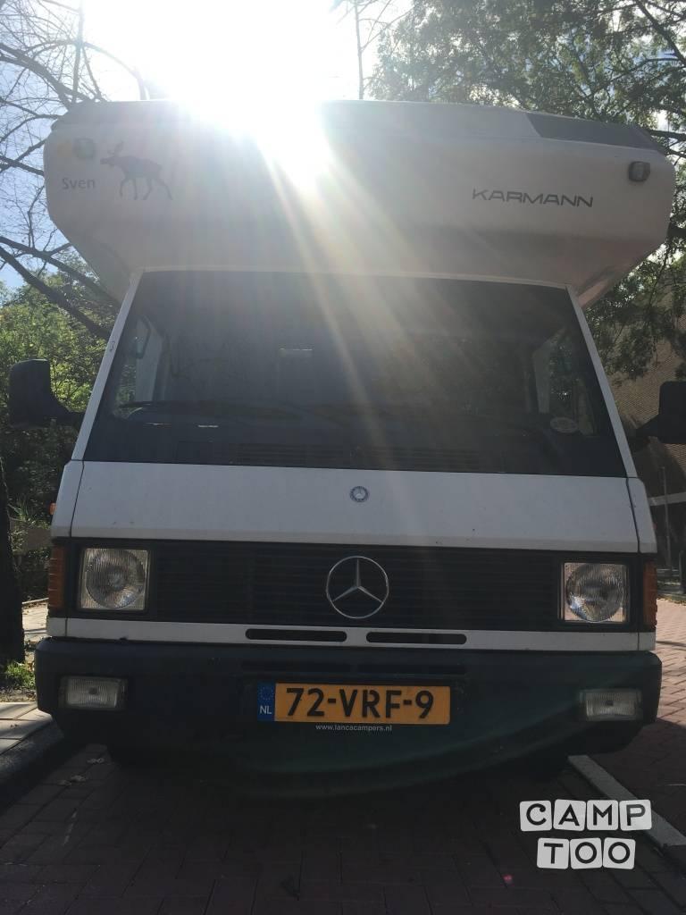Mercedes-Benz camper uit 1992: foto 1/13