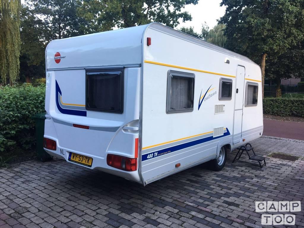 Bürstner caravan from 2000: photo 1/9