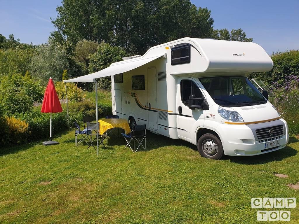 Adria camper from 2015: photo 1/9