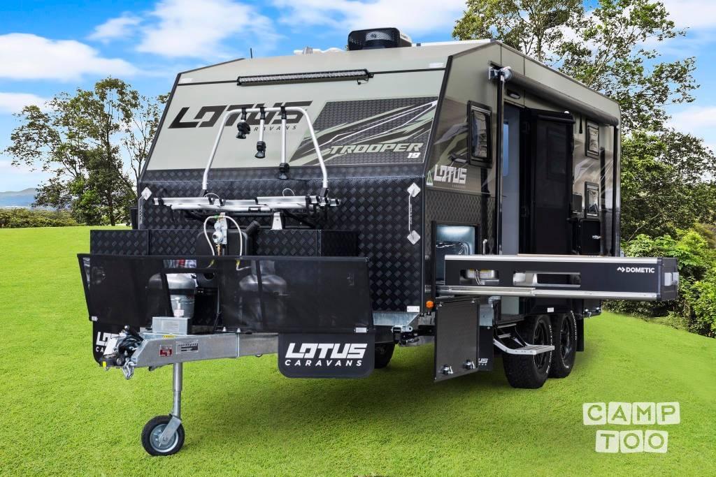 Lotus Caravans caravan uit 2020: foto 1/35