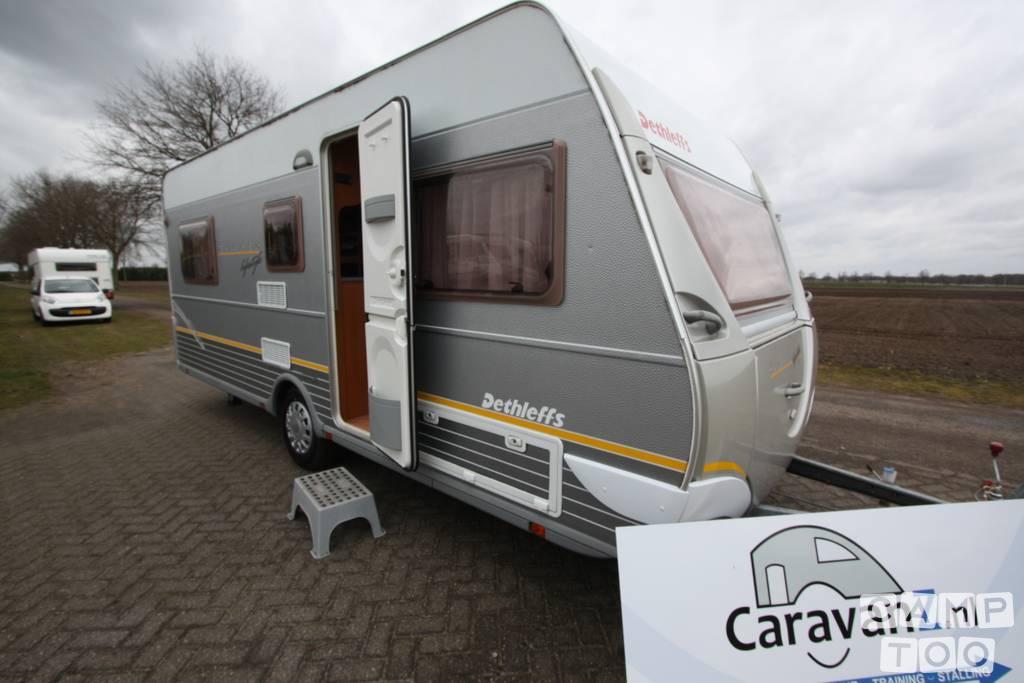 Dethleffs caravan uit 2005: foto 1/17