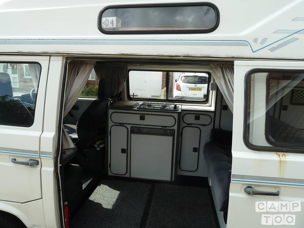 Volkswagen camper from 1986: photo 1/8