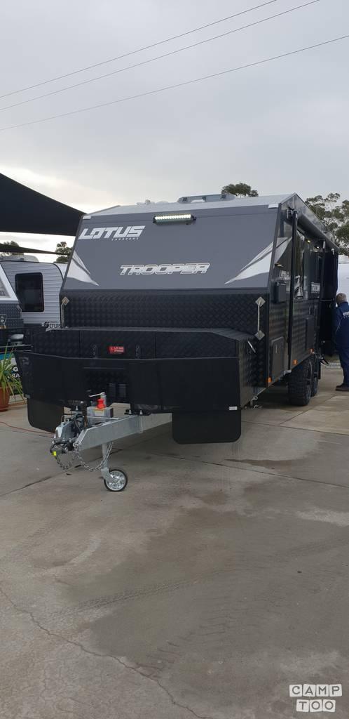 Lotus Caravans caravan uit 2018: foto 1/11