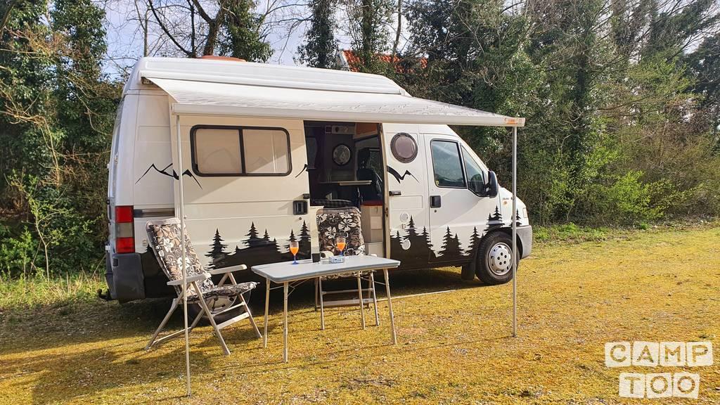 Fiat camper uit 2001