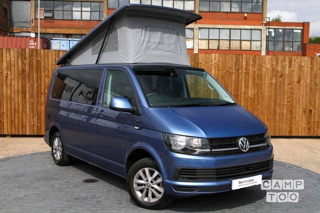 Volkswagen camper uit 2018: foto 1/6