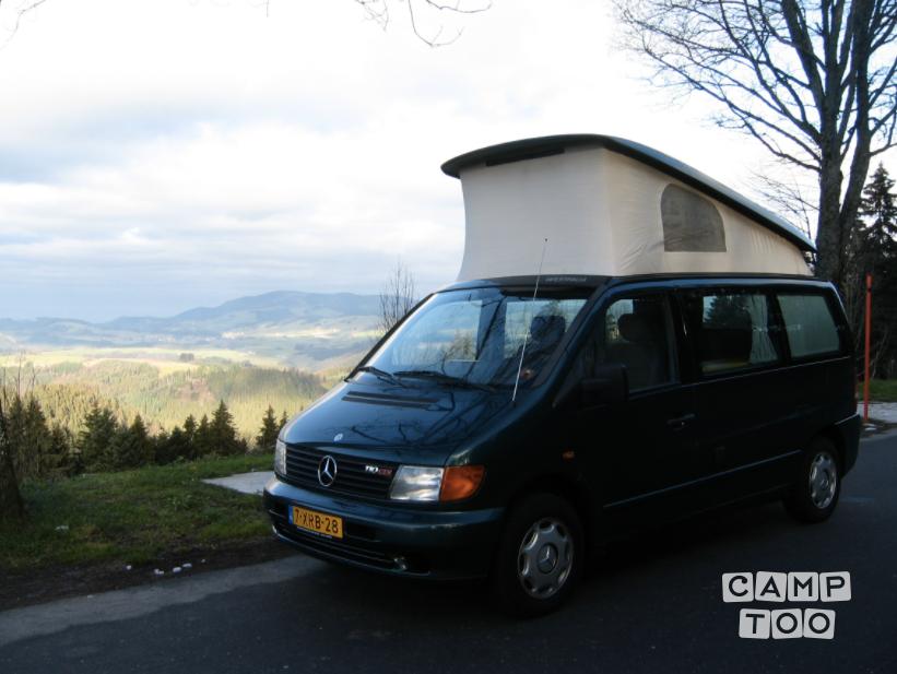 Mercedes-Benz camper uit 2000: foto 1/10