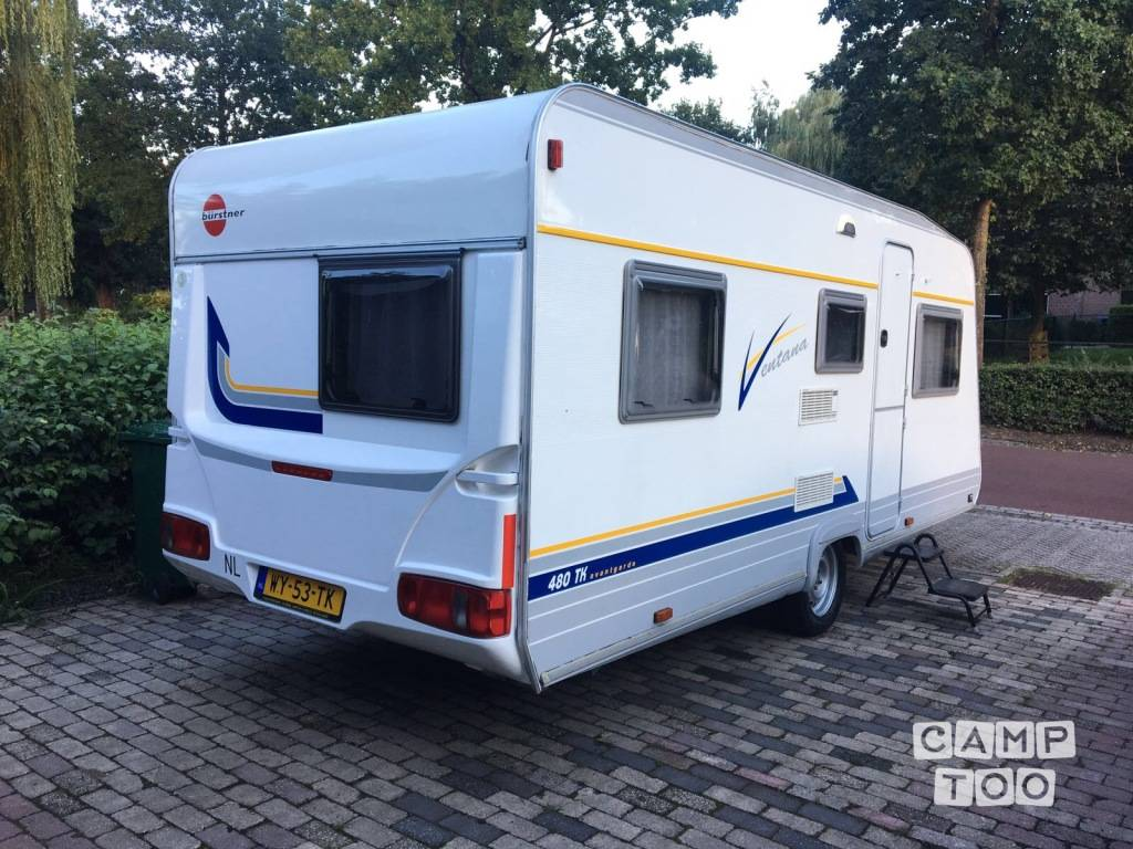Bürstner caravan uit 2000: foto 1/9