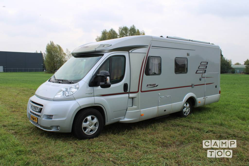 Hymer camper from 2007: photo 1/15