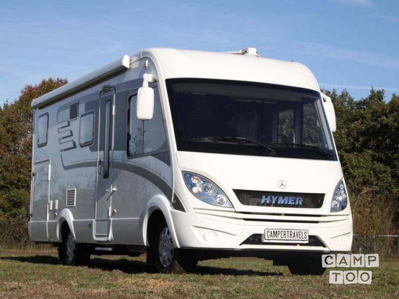 Hymer camper from 2017: photo 1/24