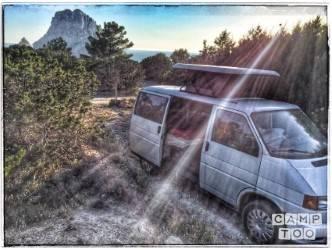 Volkswagen camper from 1994: photo 1/10