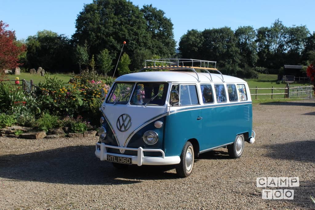 Volkswagen camper from 1966: photo 1/26