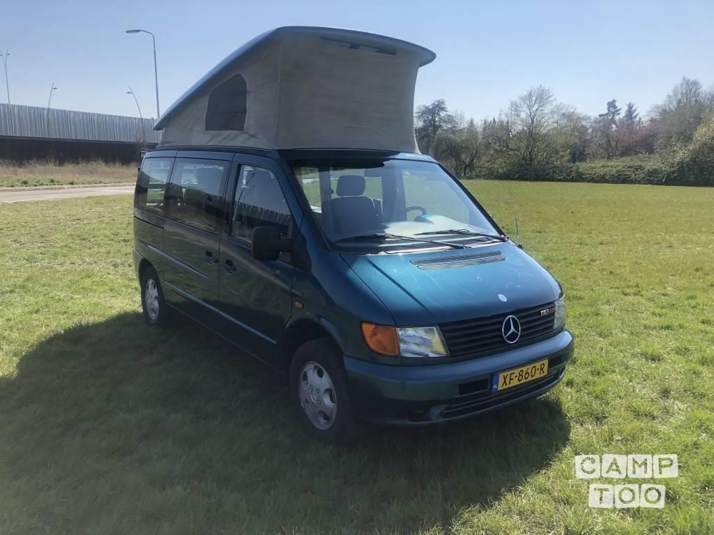 Mercedes-Benz camper uit 2000: foto 1/23