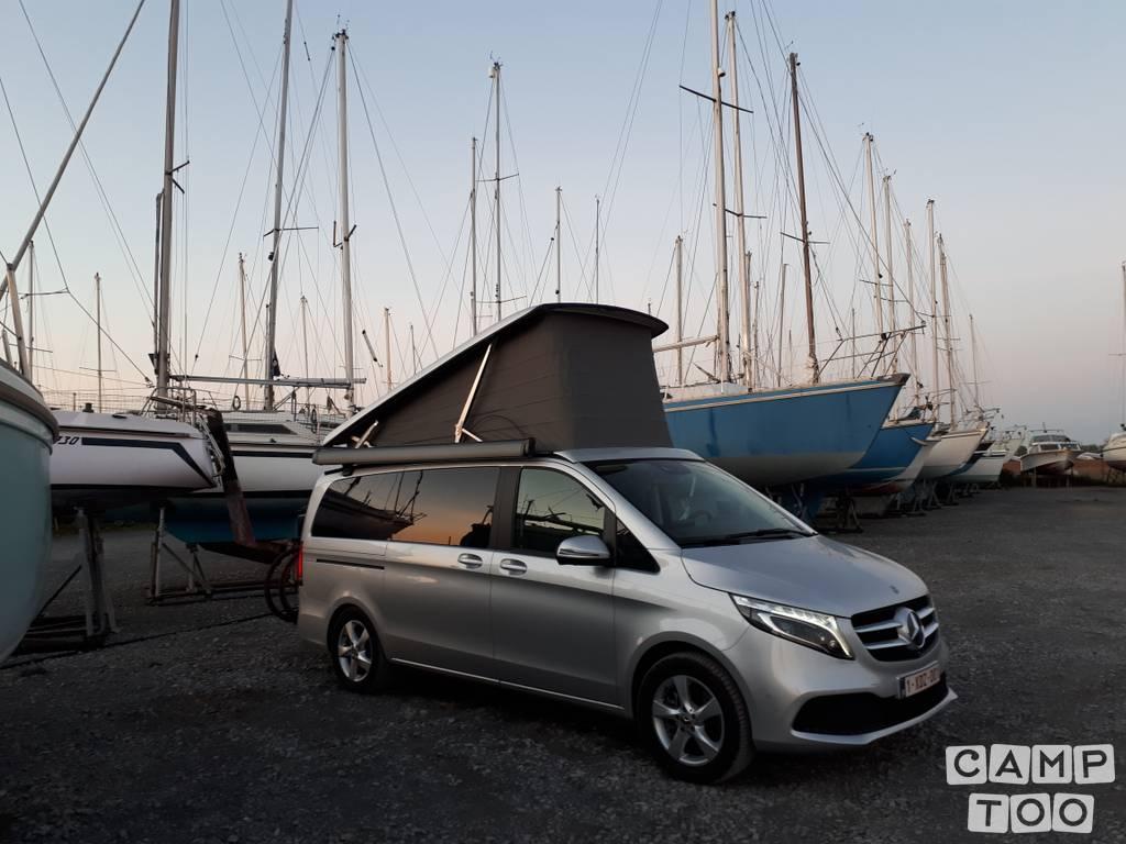 Mercedes-Benz camper från 2019: foto 1/15