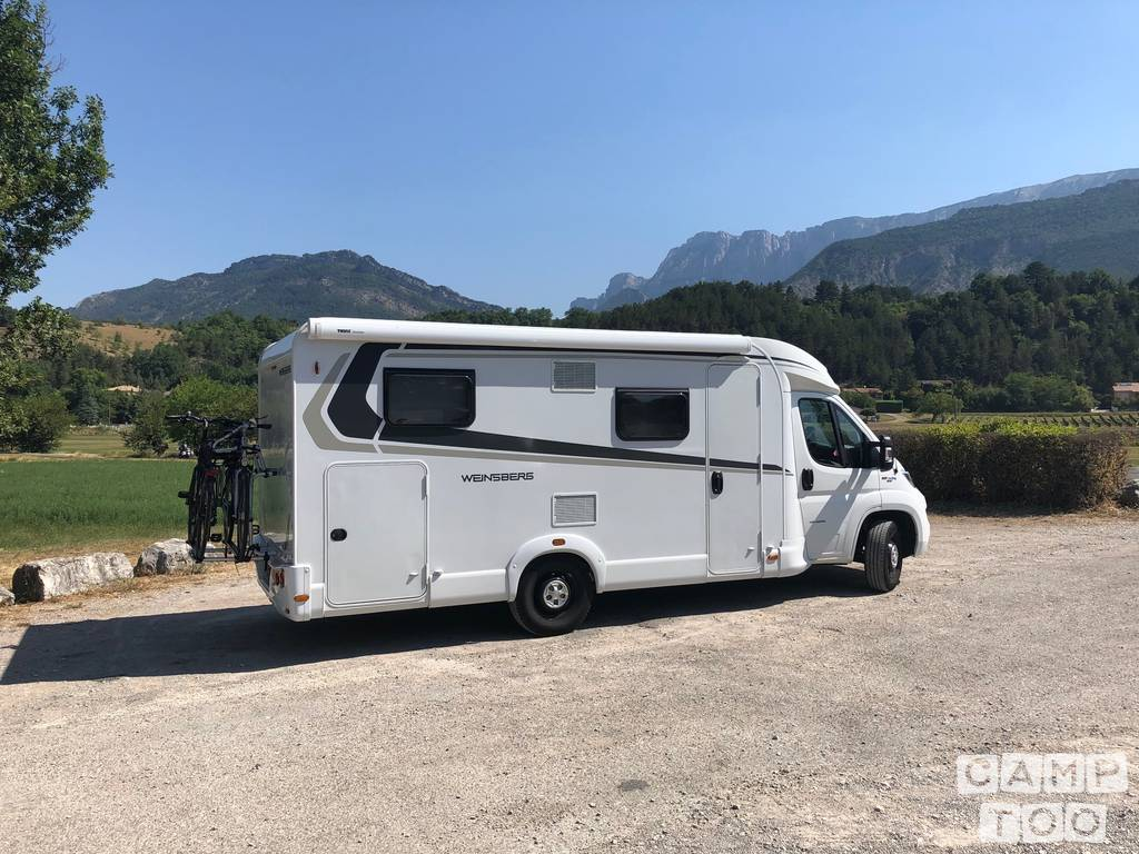 Weinsberg  camper from 2018: kuva 1/20
