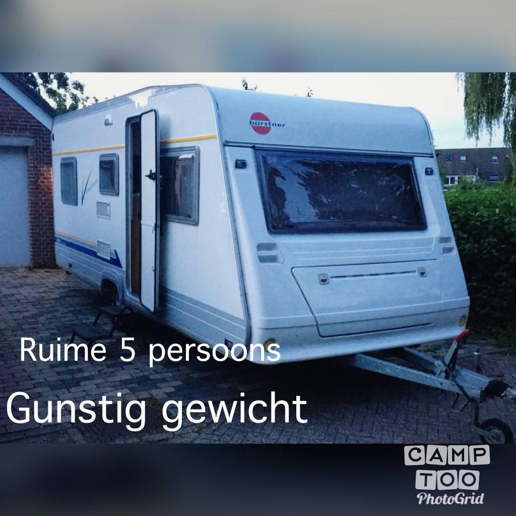 Bürstner caravan from 2000: photo 1/10