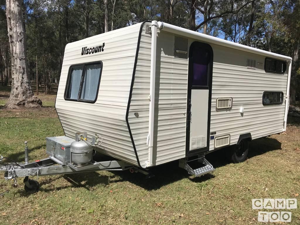 Viscount caravan from 1989: kuva 1/15
