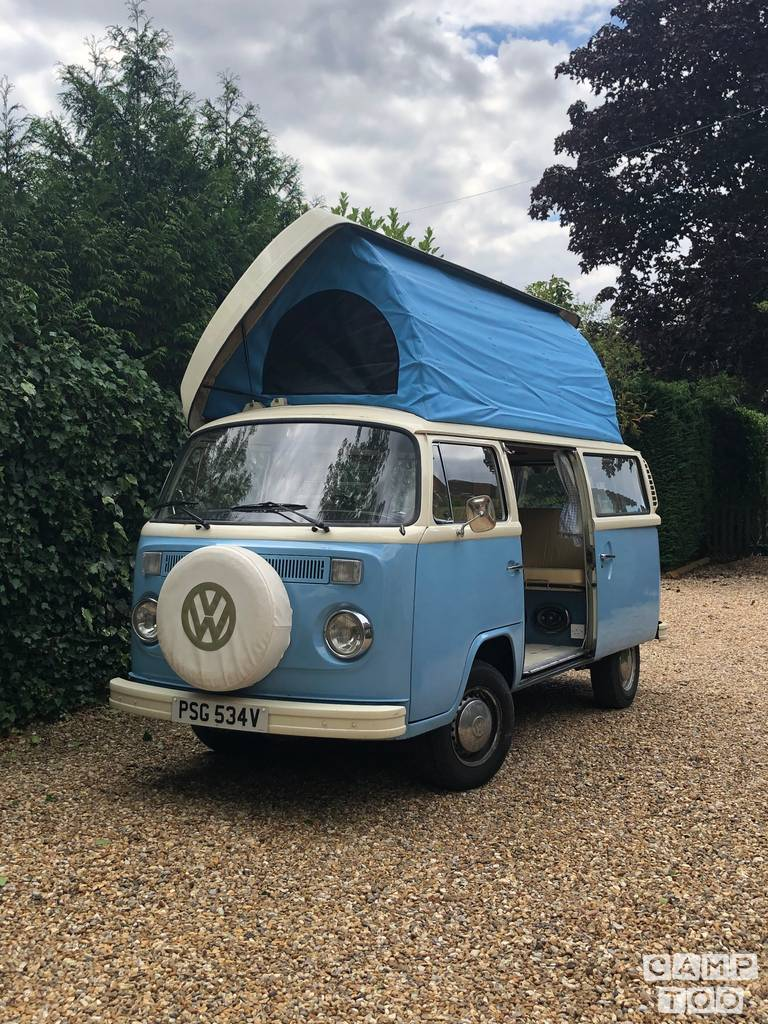Volkswagen camper uit 1979: foto 1/23