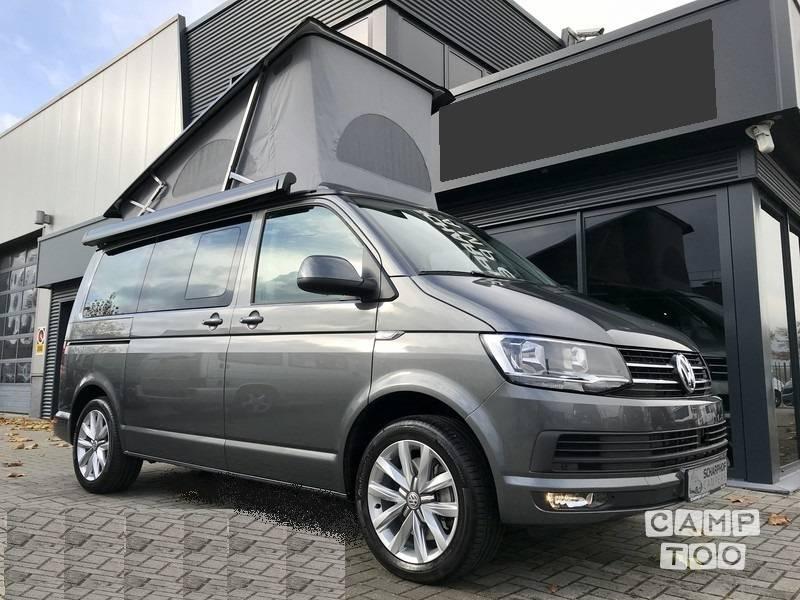 Volkswagen camper uit 2017: foto 1/7