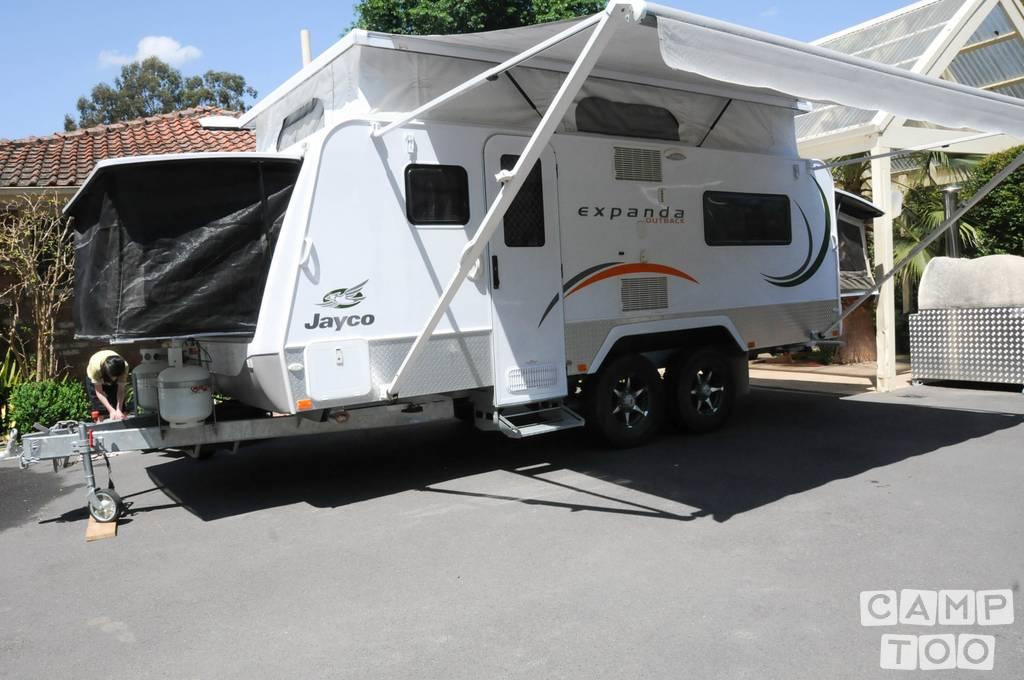 Jayco caravan from 2012: photo 1/10