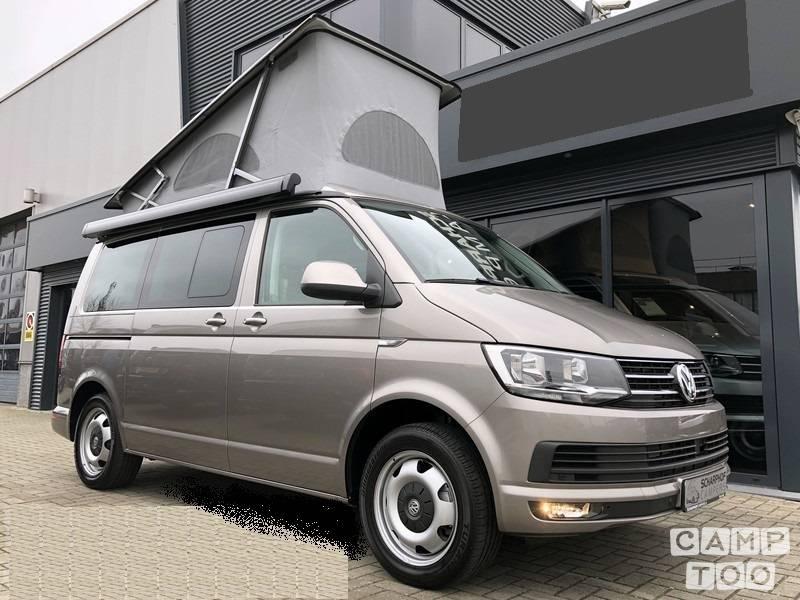 Volkswagen camper from 2017: photo 1/6