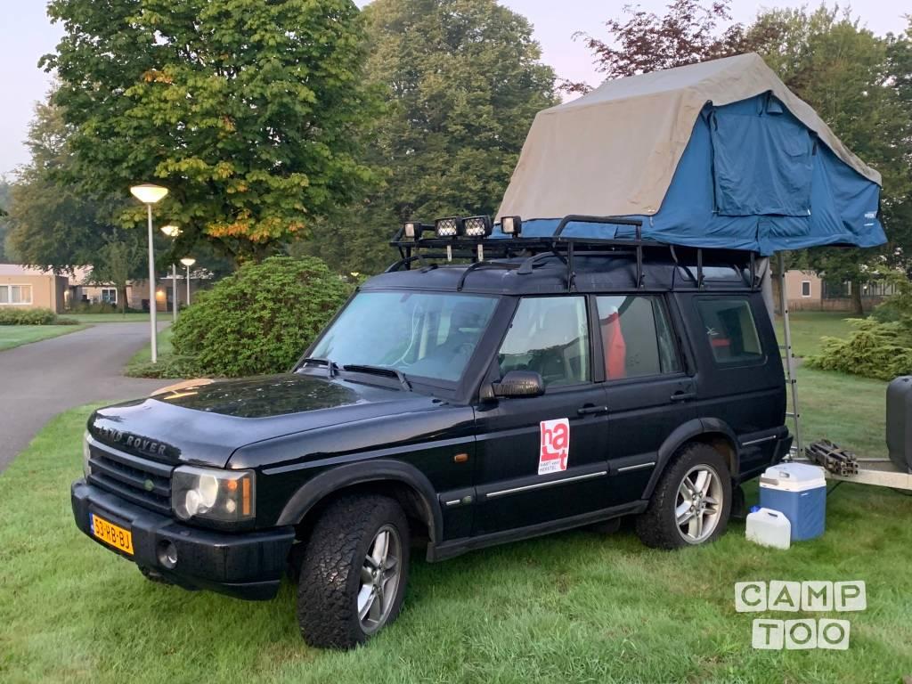 Land Rover camper uit 2005: foto 1/17