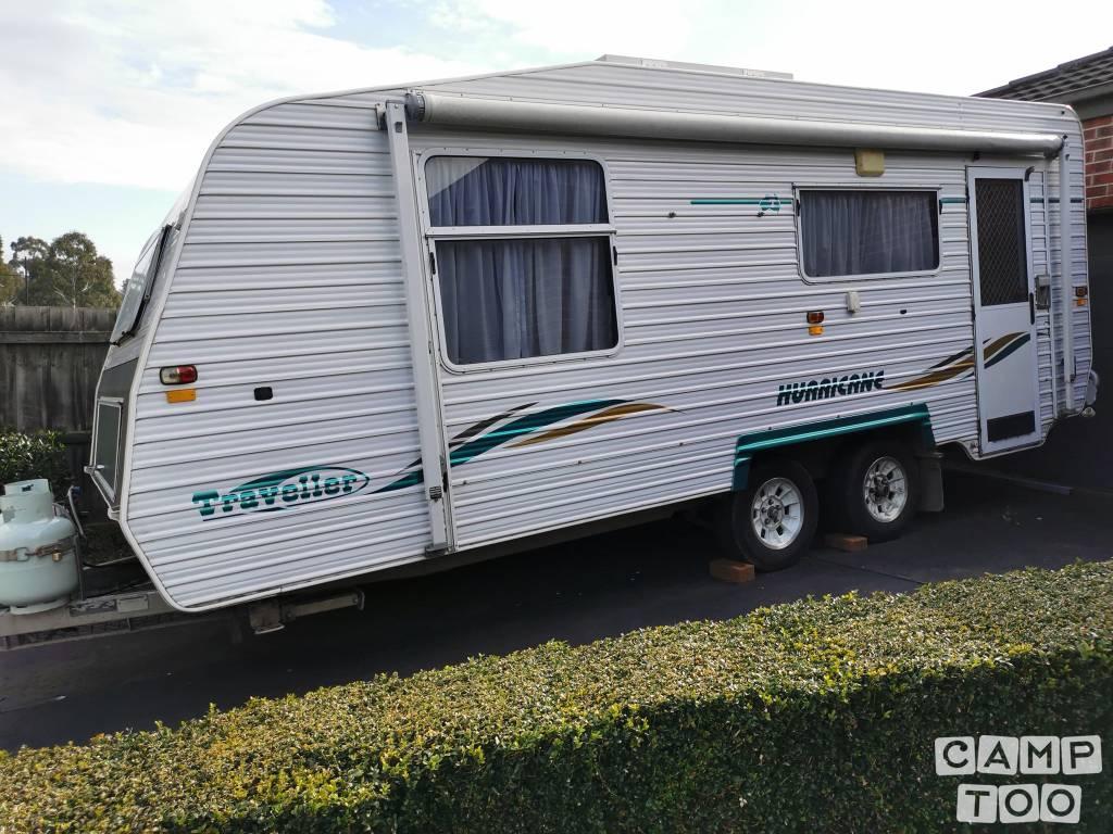 Traveller caravan from 2004: photo 1/8