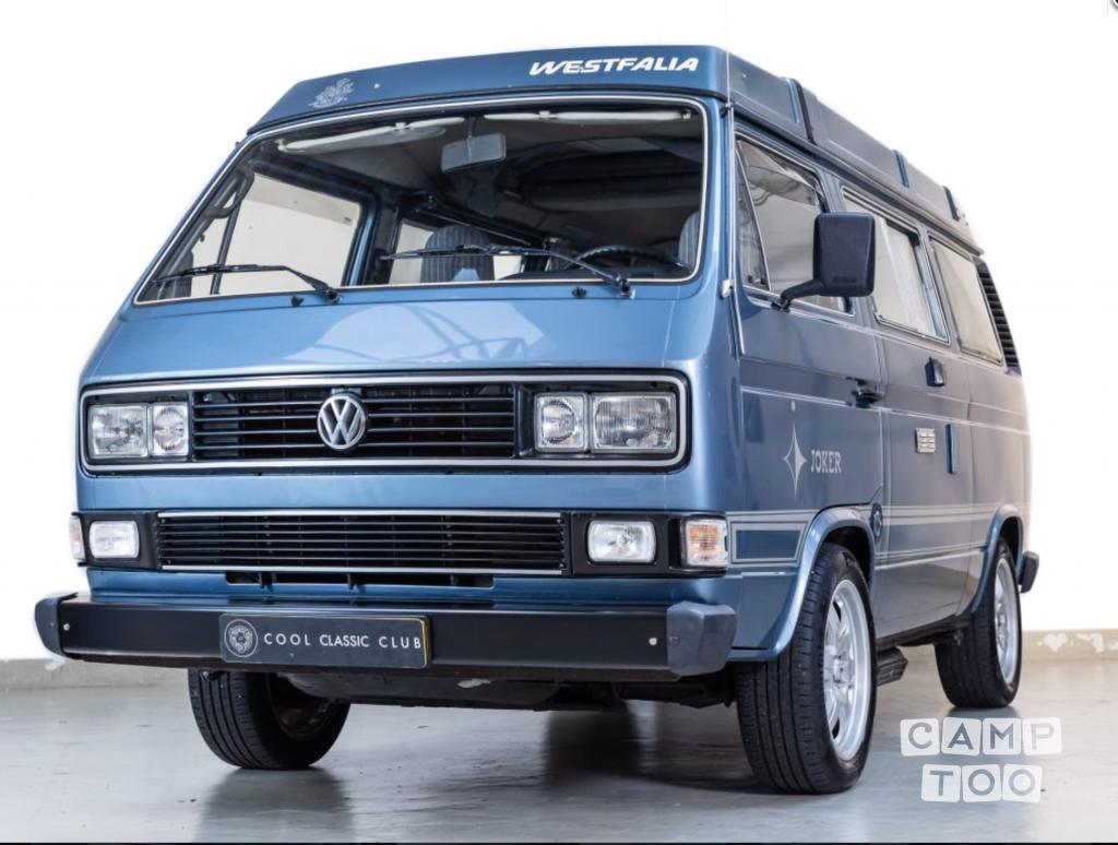 volkswagen camper uit 1983 te huur in haarlem | camptoo