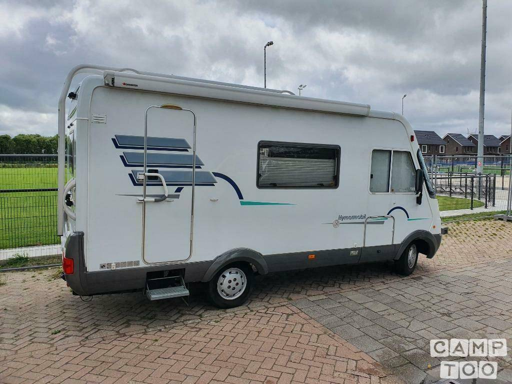 Hymer camper from 1999: photo 1/12